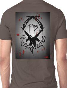 PB Reapers Logo Blood Splat Unisex T-Shirt