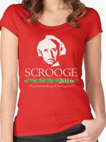Scrooge 2016! Women's Fitted Scoop T-Shirt