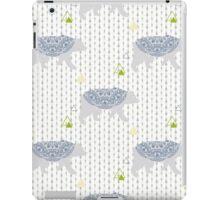 Winter bear in forest iPad Case/Skin