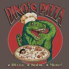 Dino's Pizza by KittenArmy
