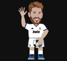 CelebriToons - Sergio Ramos by D4RK0