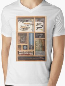 Small Arms from the Big Screen Mens V-Neck T-Shirt