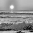 We Danced Like A Wave On The Ocean B&W by ©Dawne M. Dunton