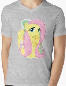 Fluttershy Mens V-Neck T-Shirt