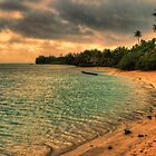 Coconut bay sunset by Chris Brunton