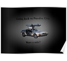 Back to Paradise City Poster