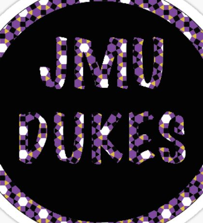 JMU-diamond Sticker