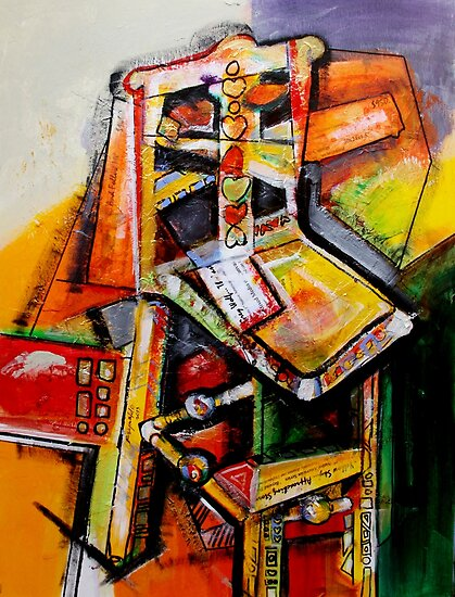Mexican Chair and Titles by Reynaldo