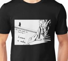 The Note -white- Unisex T-Shirt
