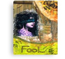 The Foolish Girl Canvas Print