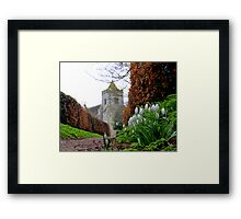 Path to Firle Church Framed Print
