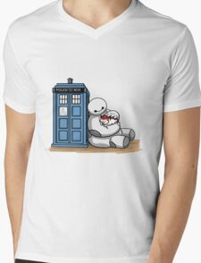 Doctor Mochi Mens V-Neck T-Shirt