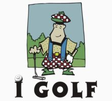 I Golf by SportsT-Shirts