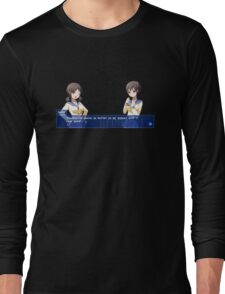 Corpse Party Seiko and Naomi: Ass Medicine Long Sleeve T-Shirt