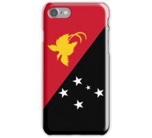 Papua New Guinea Flag iPhone Case/Skin