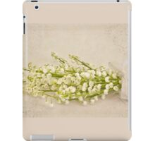 Ribboned Lily Of The Valley  iPad Case/Skin