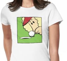 Funny Woman Golfer Womens Fitted T-Shirt