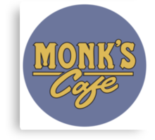 """Monk's Cafe - as seen on """"Seinfeld"""" Canvas Print"""