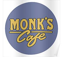"""Monk's Cafe - as seen on """"Seinfeld"""" Poster"""