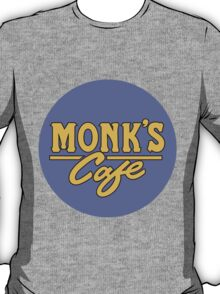 """Monk's Cafe - as seen on """"Seinfeld"""" T-Shirt"""