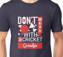 Cricket Grandpa Unisex T-Shirt