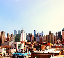 NYC Skyline by Tara Rebuck