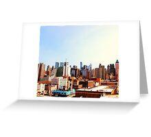NYC Skyline Greeting Card