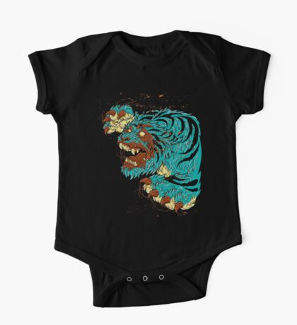 ZOMBIE TIGER One Piece - Short Sleeve