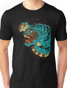 ZOMBIE TIGER Unisex T-Shirt