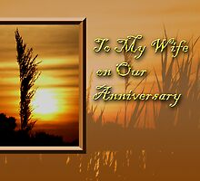 To My Wife On Our Anniversary Sunset by jkartlife