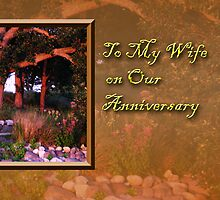 To My Wife On Our Anniversary Woods by jkartlife