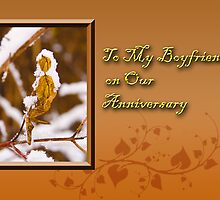 To My Boyfriend On Our Anniversary Leaf by jkartlife