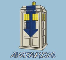AvaTardis Dr. who and the last Airbender by Brantoe