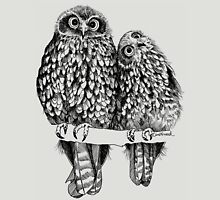 Morepork Owls Contemplate Life Unisex T-Shirt