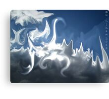 Cloud Morph Canvas Print