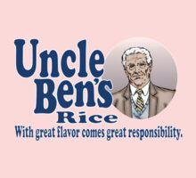 Uncle Ben's Rice. Spider-man Baby Tee