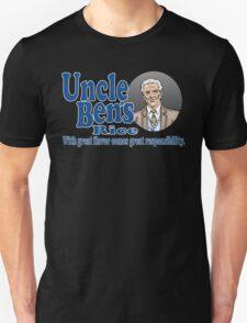 Uncle Ben's Rice. Spider-man T-Shirt