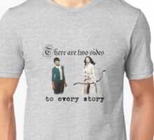 Snow White and Mary Margaret Blanchard Unisex T-Shirt