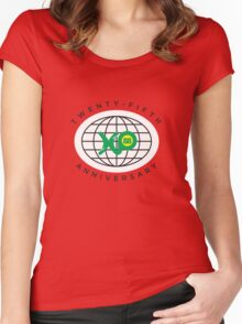 World Expo 88 - 25th Anniversary Oval Women's Fitted Scoop T-Shirt