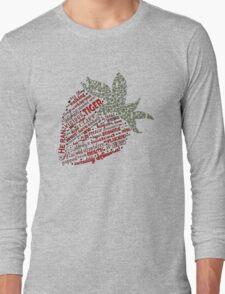 Zen Strawberry Long Sleeve T-Shirt