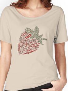 Zen Strawberry Women's Relaxed Fit T-Shirt