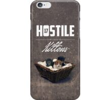Hostile 17 Owes Me Kittens (grungy) iPhone Case/Skin