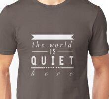 """A Series of Unfortunate Events: """"The World is Quiet Here"""" Unisex T-Shirt"""