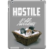 Hostile 17 Owes Me Kittens (Clean) iPad Case/Skin