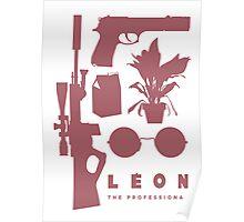 Leon - Minimal  Poster