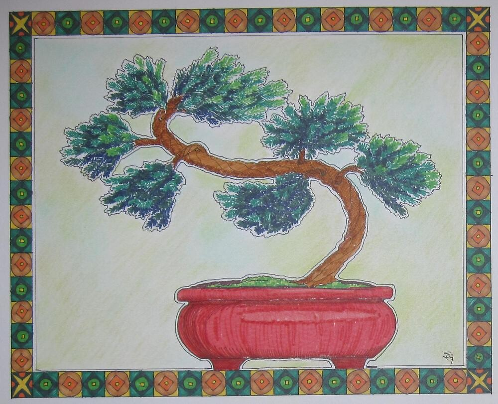 Bonsai Pine by Susan Genge
