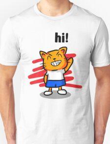 Kid Cat Unisex T-Shirt
