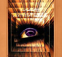 Extreme Eye in Mall Store Window by Jane Neill-Hancock