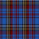 00430 Anderson Westwood Blue Tartan Fabric Print Iphone Case by Detnecs2013