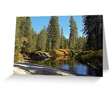 """Autumn On The Yuba"" Greeting Card"